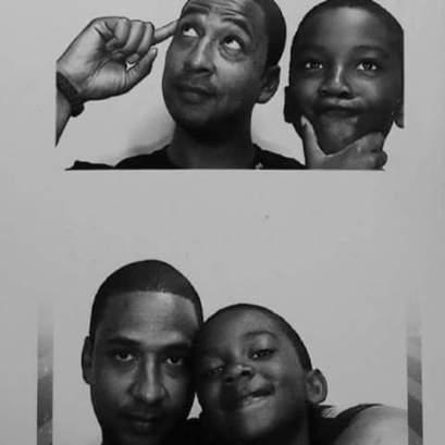 chris and son