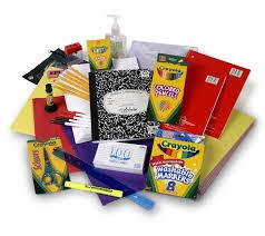 supplies, supplies, supplies