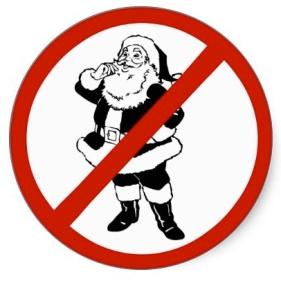 no-santa-sticker